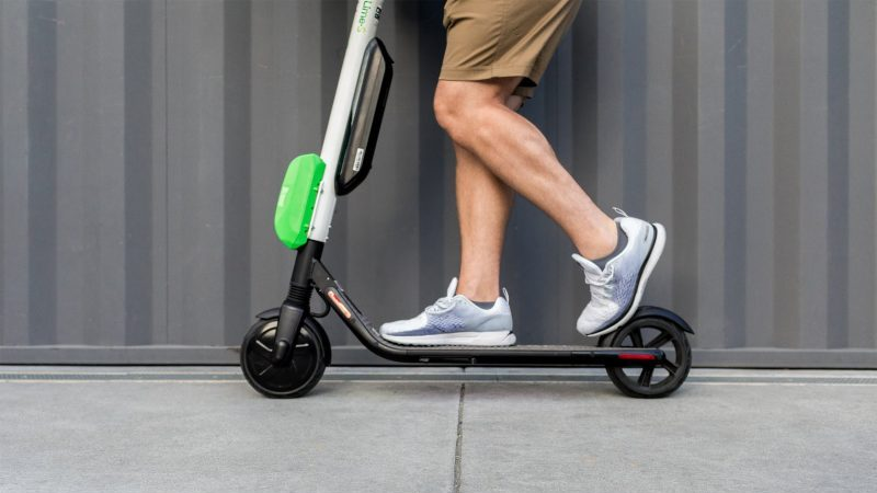 Lime E-Scooter nah