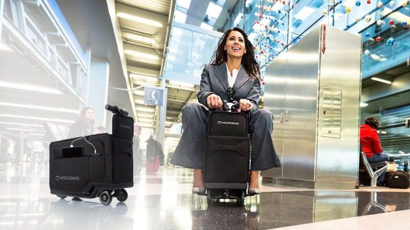 Modobag smarter Koffer Flughafen