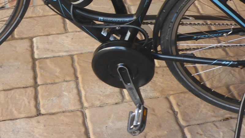 Pendix E-Drive Mittelmotor Pedal