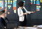 Präsentation, Meeting, Vorstellung, Präsentieren mit Kopfkino