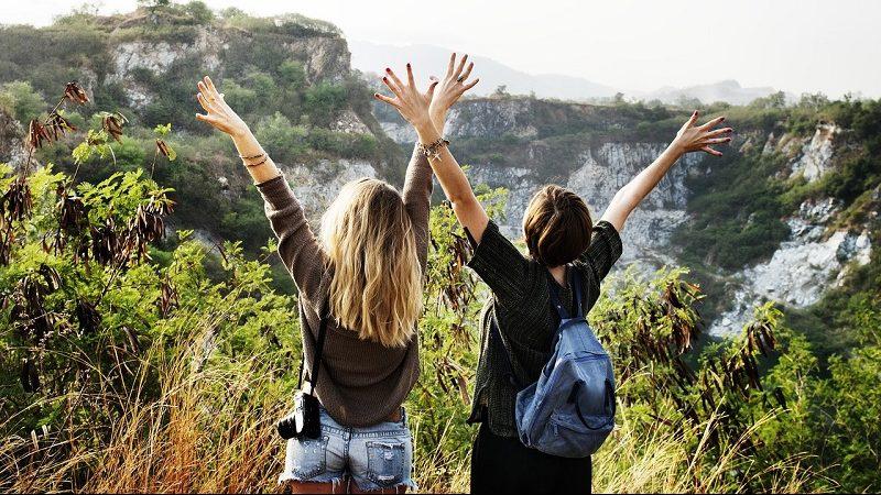 Reisen Wandern Freiheit