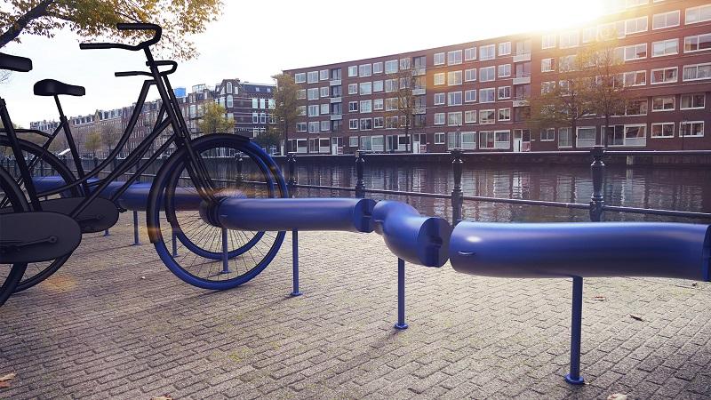 S-Park Fahrradständer Amsterdam