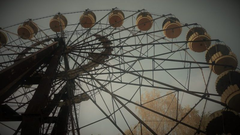 Riesenrad Prypjat Tschernobyl