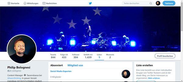 Twitter, Twitter-Liste, Twitterliste, Twitterlisten, Listen bei Twitter