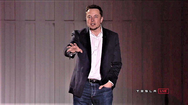 Elon Musk Tesla Präsentation