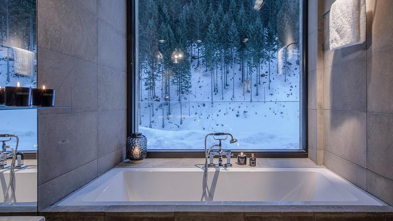 Zhero Hotel Ischgl Badezimmer