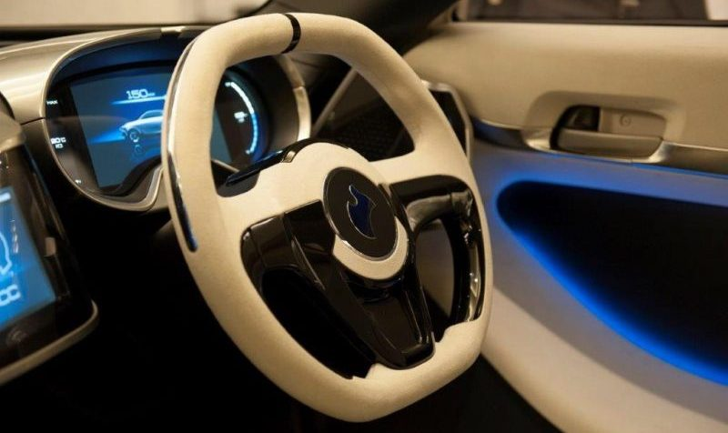 Akxy Konzeptauto Innenraum