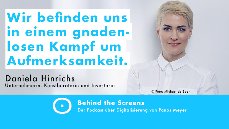 Daniela Hinrichs, Panos Meyer, Behind the Screens