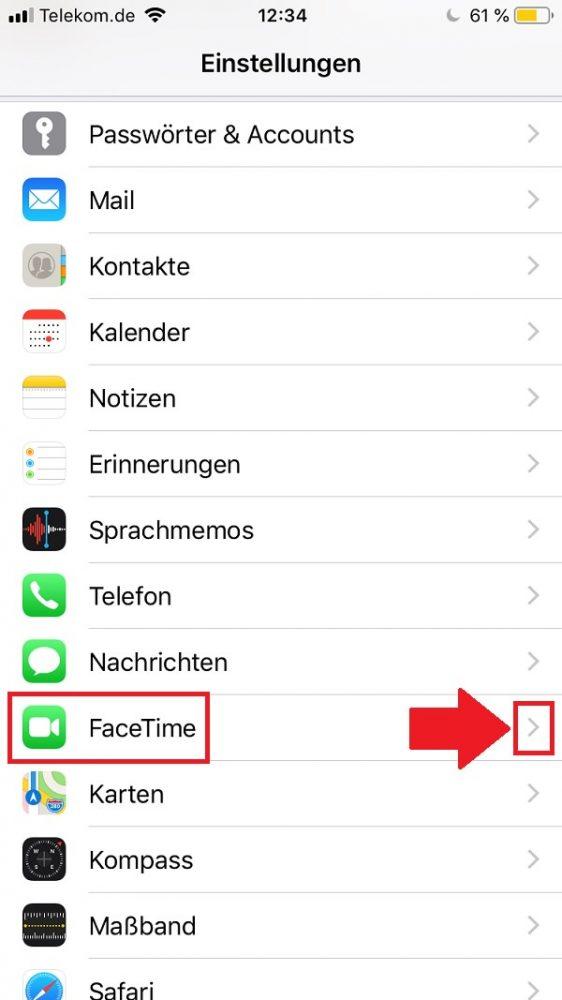 Apple Facetime deaktivieren, Apple Facetime ausschalten, FaceTime deaktivieren, FaceTime ausschalten