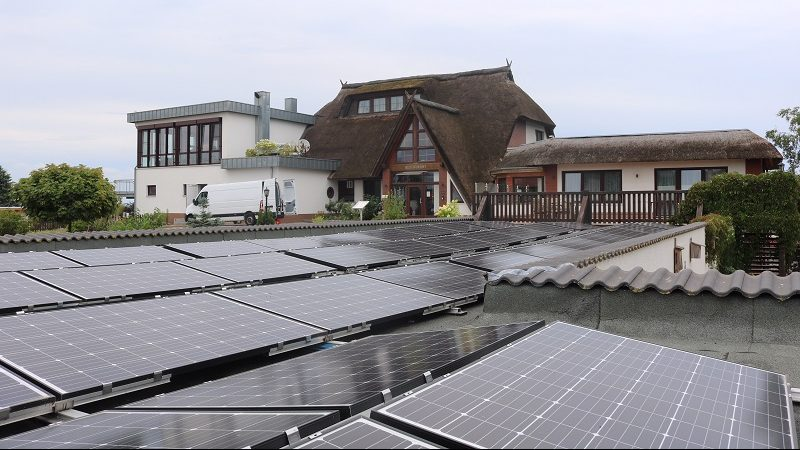 Haffhus Hotel Photovoltaikanlage