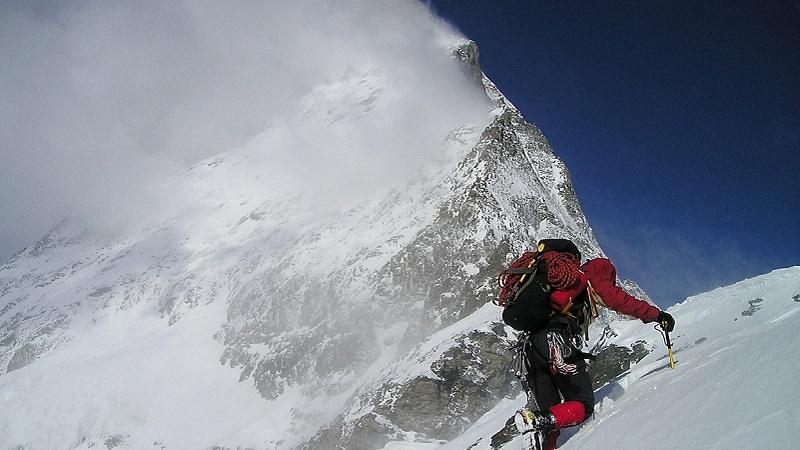 Matterhorn, Schweiz, Berge, Bergsteiger, Gipfel, Instagrammer