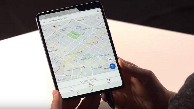 Samsung Galaxy Fold, faltbares Smartphone Samsung