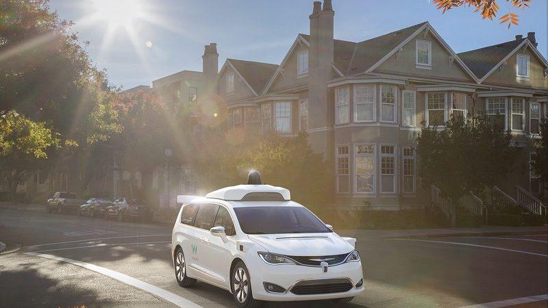 Waymo Minivan Testfahrt
