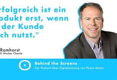 Dirk Ramhorst, Panos Meyer, Behind the screens