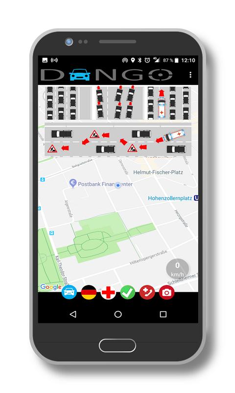 Dango App Smartphone Display