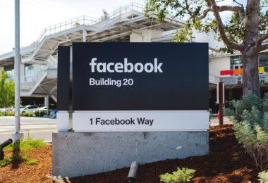 Facebook Unternehmenssitz Außenansicht Menlo Park Kalifornien