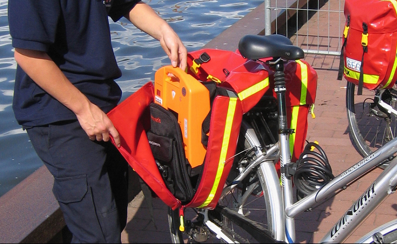 Johanniter Fahrradstaffel Ausrüstung