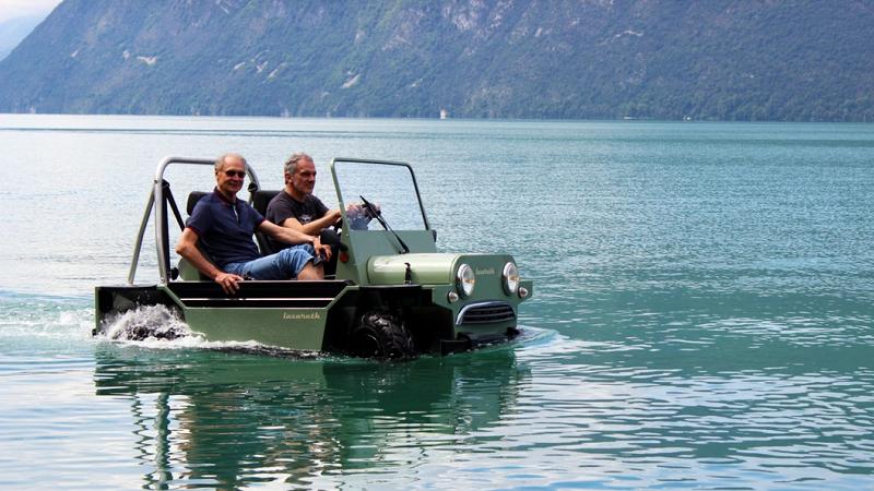 Lazareth Amphibie Wasserfahrzeug