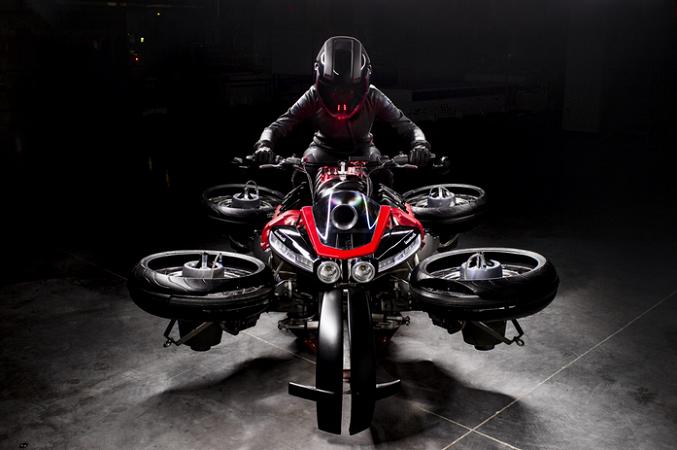 Moto Volante Lazareth Flugmodus