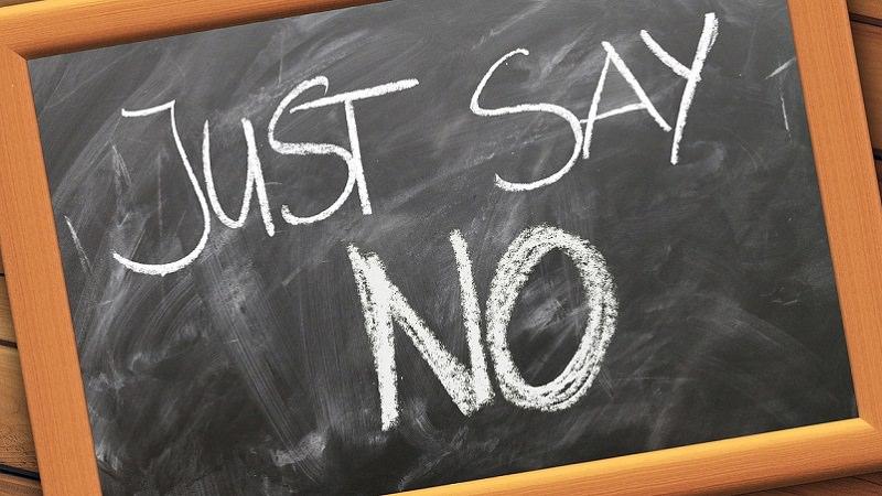 Nein sagen, Nein, Nein zu sagen, Lernen, Nein zu sagen
