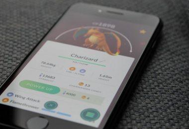 Glurak, Pokemon Go, Pokémon Go