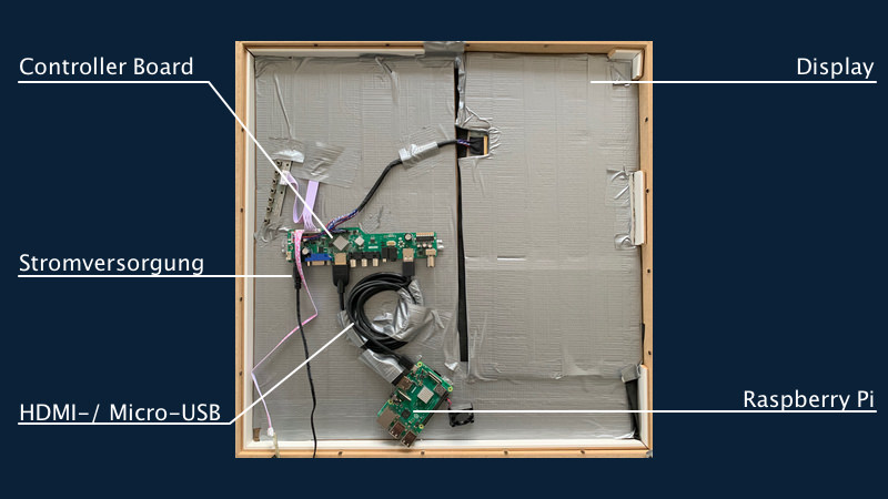 Smart Mirror Anleitung Selber bauen
