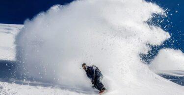 Snowboarder Schnee Berg