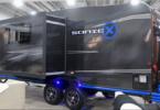 Sonic X Wohnwagen Außenansicht