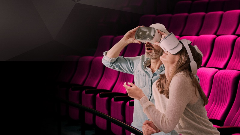 Telekom VR Kinotour Kampagnenplakat