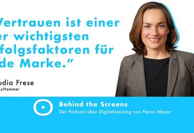 Claudia Frese, Panos Meyer, Behind the Screens