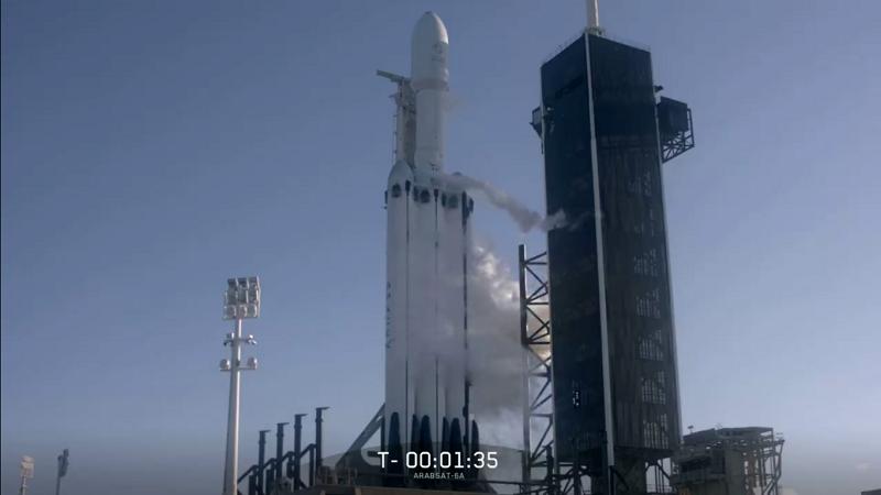 Falcon Heavy kurz vor dem Launch