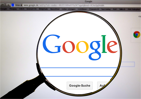 Google, Google-Suche, Suchmaschine, Lupe
