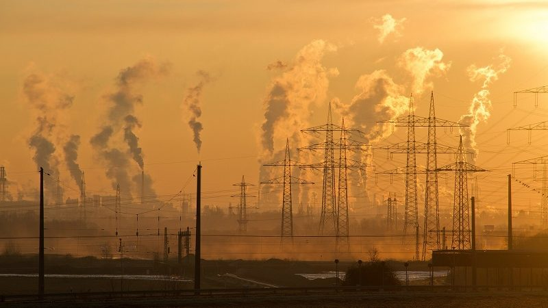 Industrie Rauchschlote Emissionen CO2