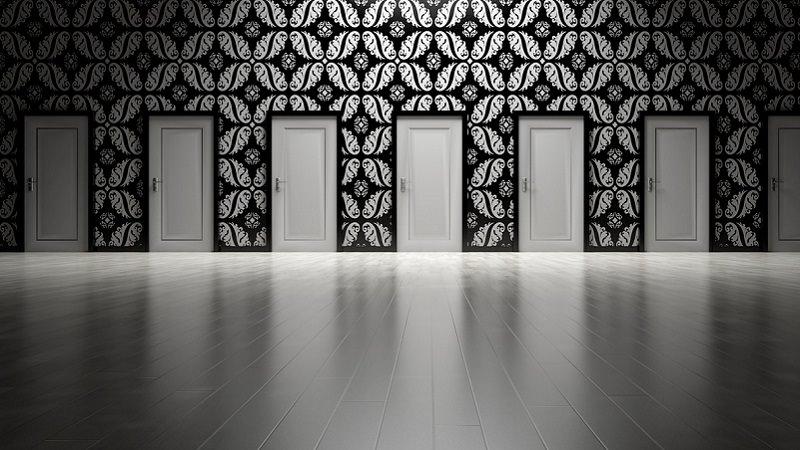Türen, Tür, Entscheidung, Auswahl, Verantwortung