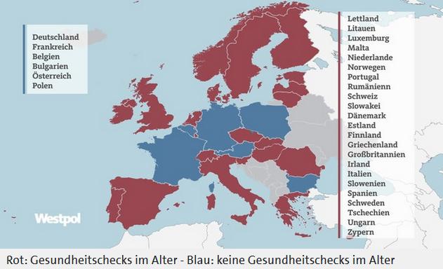 Übersicht Fahrsicherheitskontrollen Europa