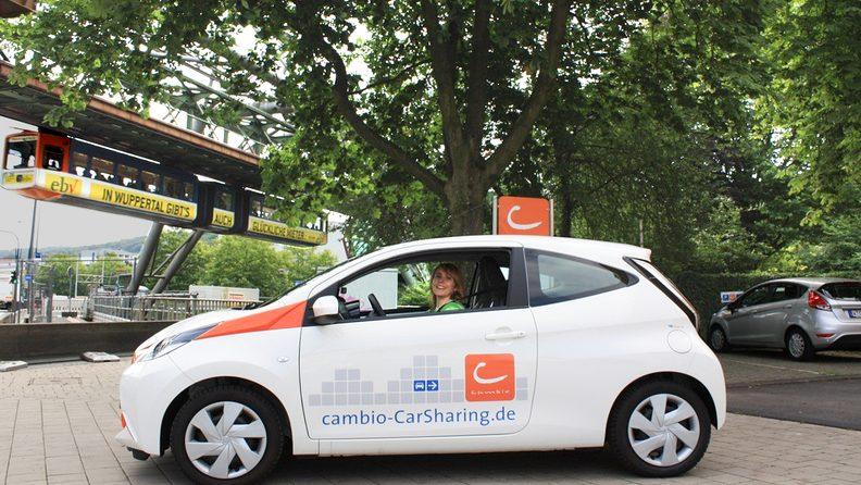 Cambio Carsharing, Auto