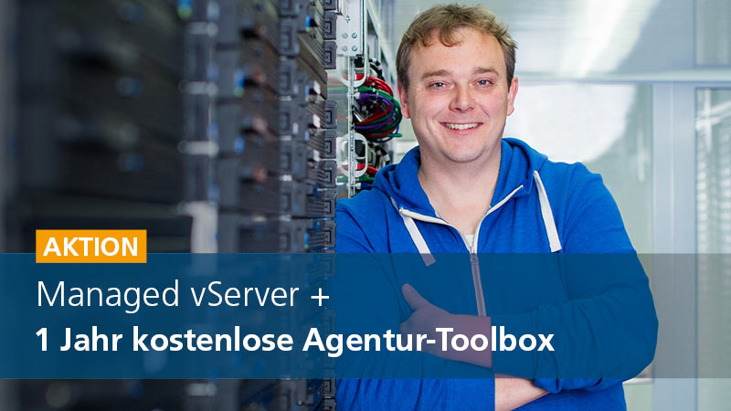 Managed vServer: Das Upgrade für dein Hosting