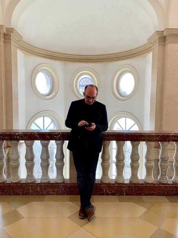 Christian Wolff, Social Media Manager, Homescreen, iPhone, Bayerisches Staatsministerium für Gesundheit und Pflege