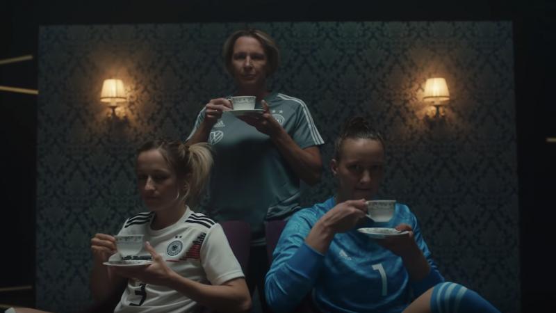 DFB-Frauen, Fußball, Werbespot, Werbung, Selbstironie, Vorurteile, Klischees