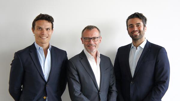 Die Gründer von links nach rechts Thomas Regier, Dr. Markus Fisseler, Kivanc Semen (Quelle DataGuard)