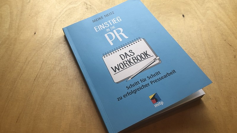 Einstieg in die PR, Meike Neitz, Workbook, Kommunikation