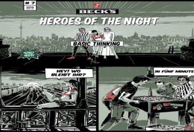 Heroes of the Night, Becks, App, App-Marketing, Unterhaltuung