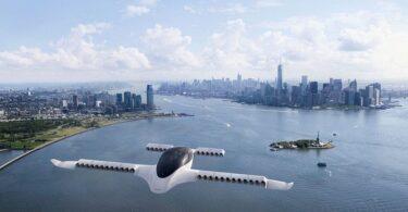 Lilium Flugtaxi über New York