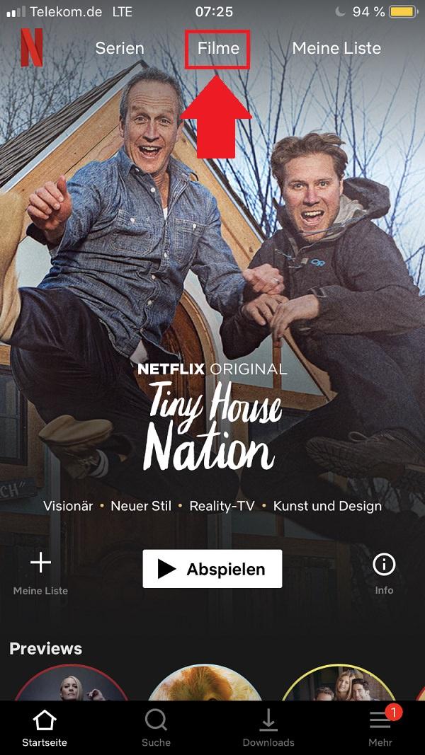 Netflix-Filme herunterladen, Netflix-Serien herunterladen