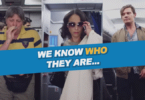Störende Passagiere im Flugzeug aus der EASA-Kampagne #notonmyflight