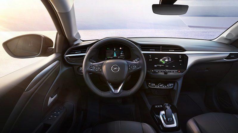 Corsa-E Innenraum und Cockpit