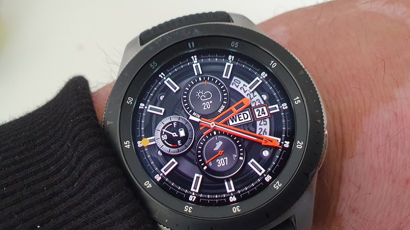Samsung Galaxy Watch, Samsung Galaxy Watch Test, Samsung Smartwatch