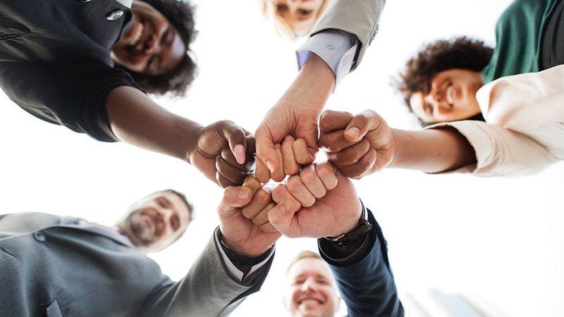 Team, Teamwork, Zusammenhalt, Aufgaben delegieren