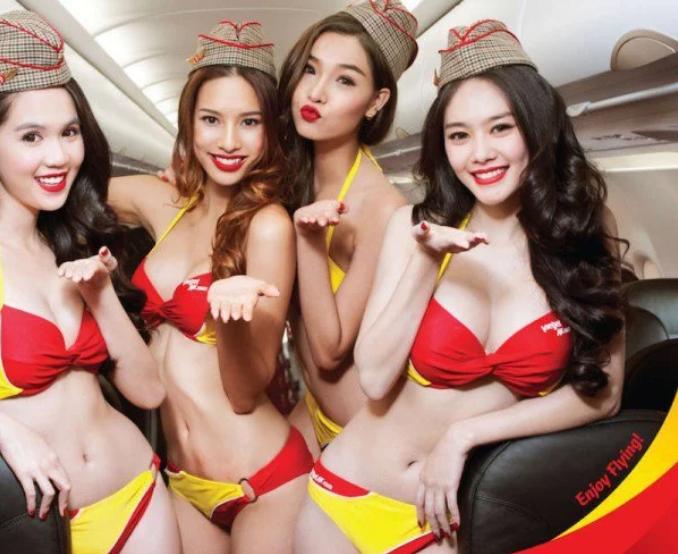 Viet Jet Air Bikini Fluglinie
