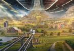 Weltraumkolonien Blue Origin Konzept